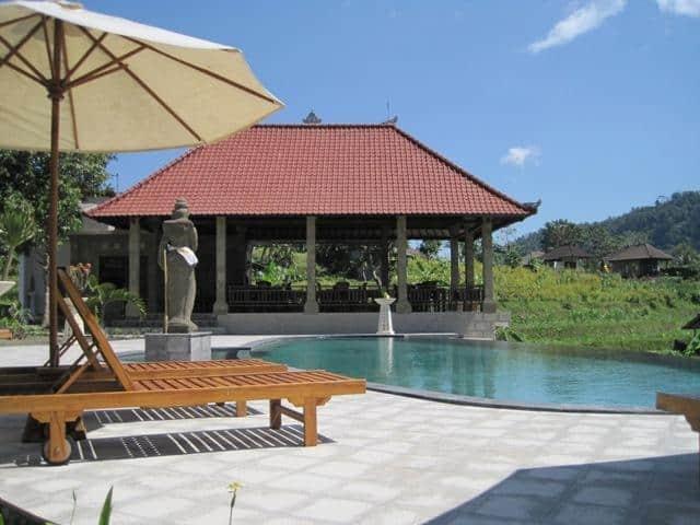 hotel sidemen bali piscine
