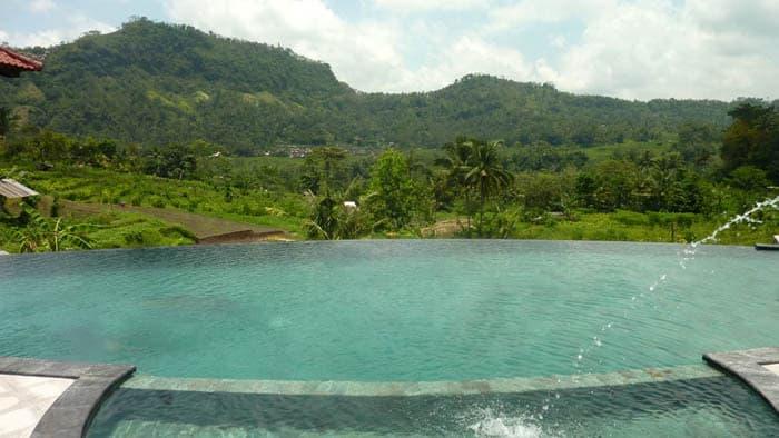hotel sidemen bali vue piscine