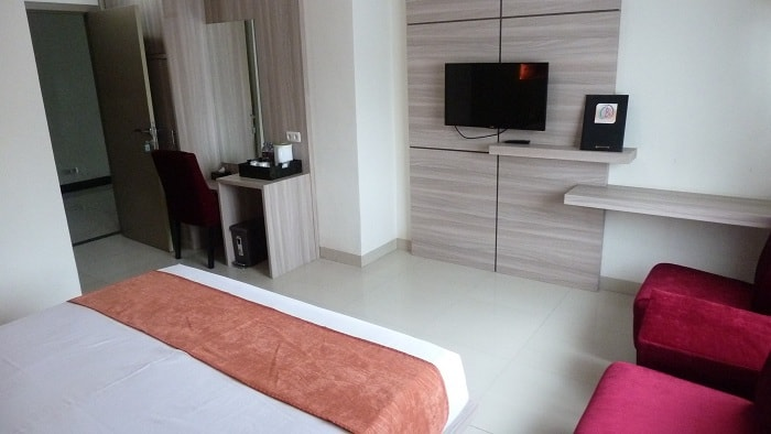 hotel sulawesi chambre