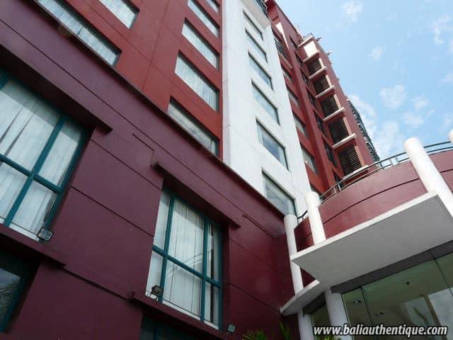 hotel sulawesi indonésie bâtiment