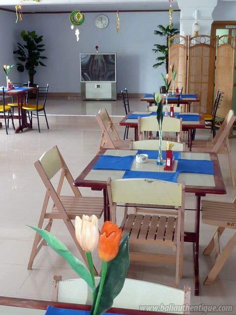 hotel sulawesi indonésie restaurant