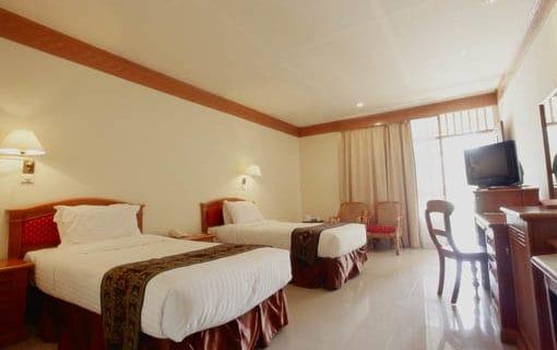 hotel sulwasi indonésie chambre