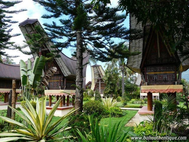 hotel sulwasi indonésie maisons