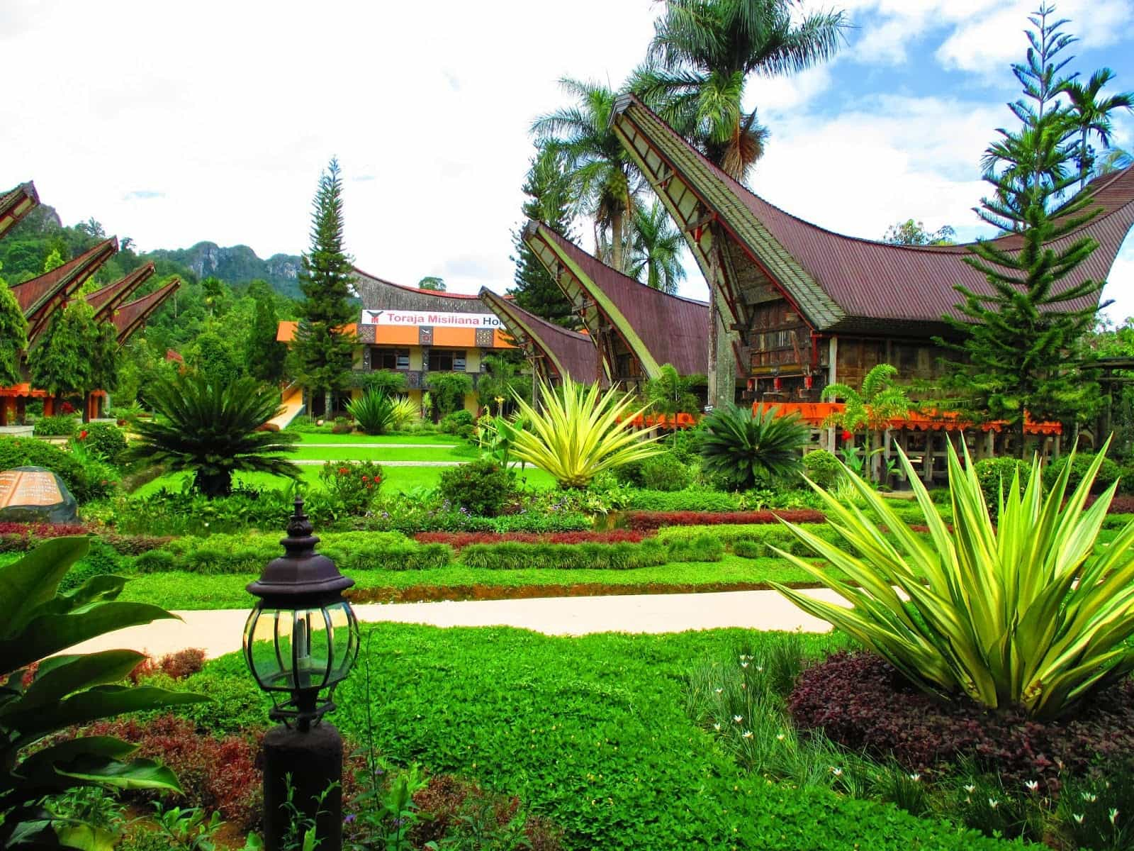 hotel sulwasi indonésie panorama