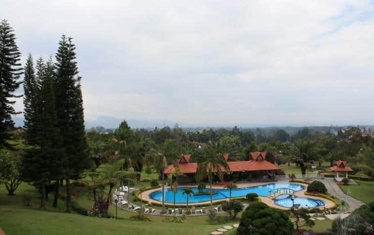 hotel Sumatra Berastagi vue d'ensemble