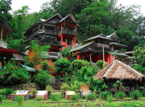 hotel Sumatra Bukit Lawang vue générale