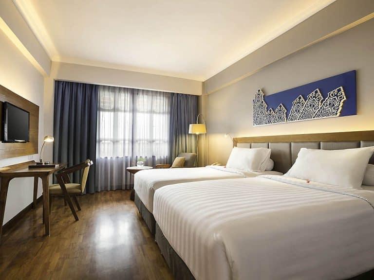 hotel Sumatra Bukittinggi chambre bleue