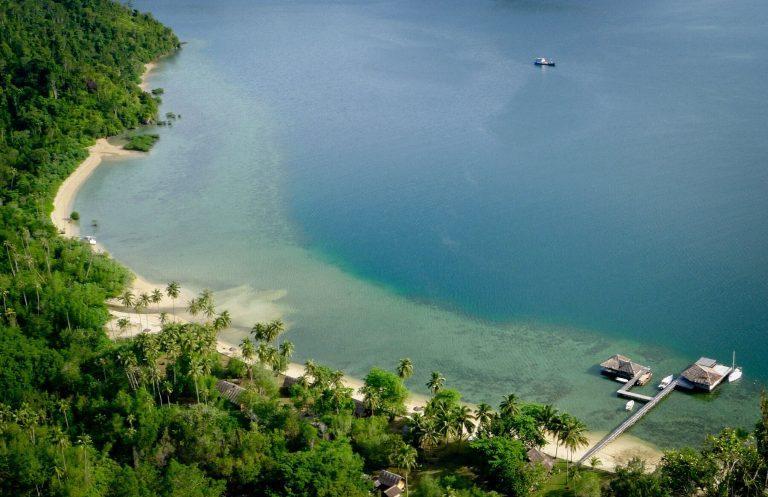 hotel Sumatra Bungus vue aérienne