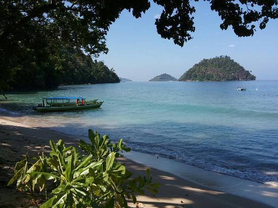 hotel Sumatra Bungus vue mer