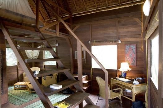 hotel Sumatra Bungus bois