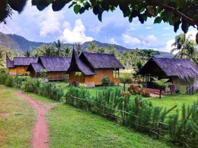 hotel Sumatra Harau maisonnettes