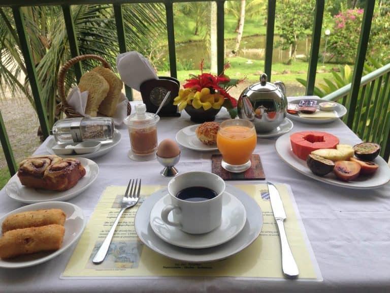 hotel Sumatra Medan petit déjeuner