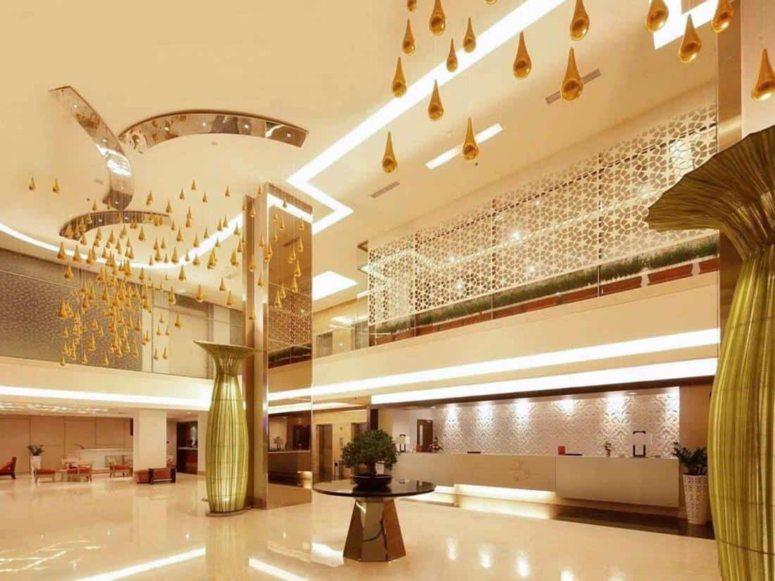 hotel Sumatra Padang réception