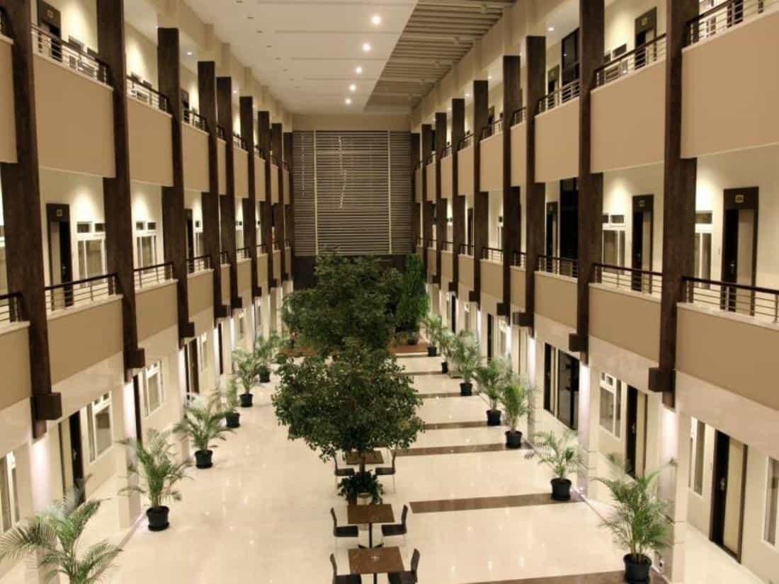 hotel Sumatra Sidempuan lobby