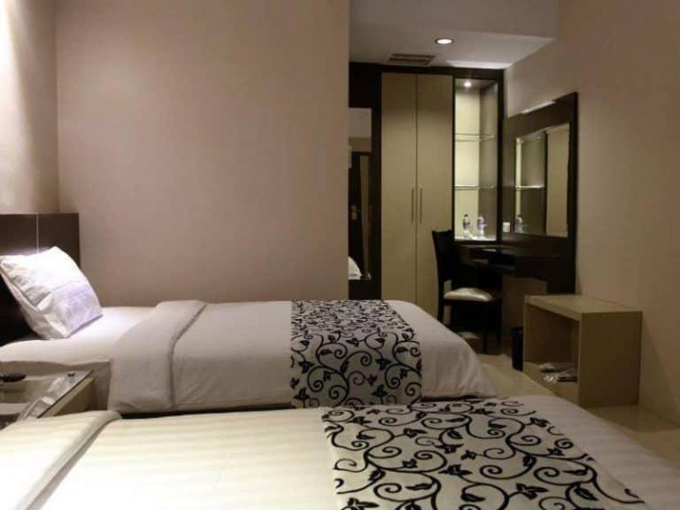 hotel Sumatra Sidempuan lits jumeaux