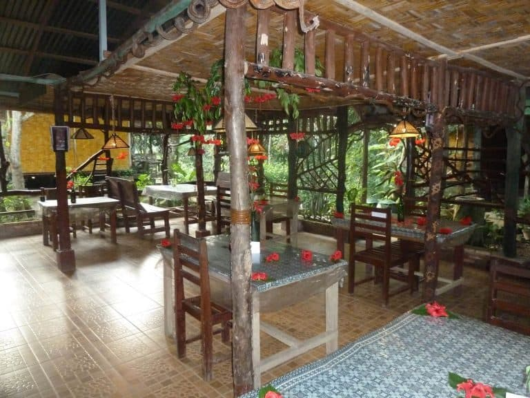 hotel Sumatra Tangkahan restaurant