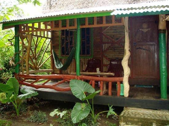 hotel Sumatra Tangkahan Terrasse