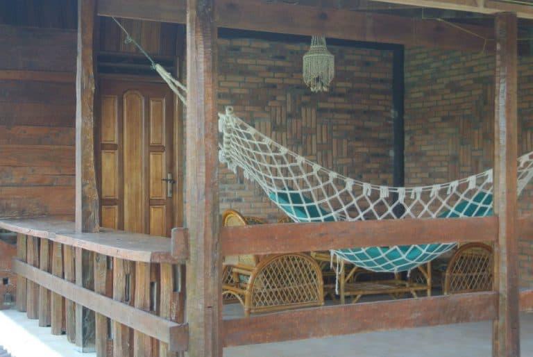 hotel Sumatra Toba balcon