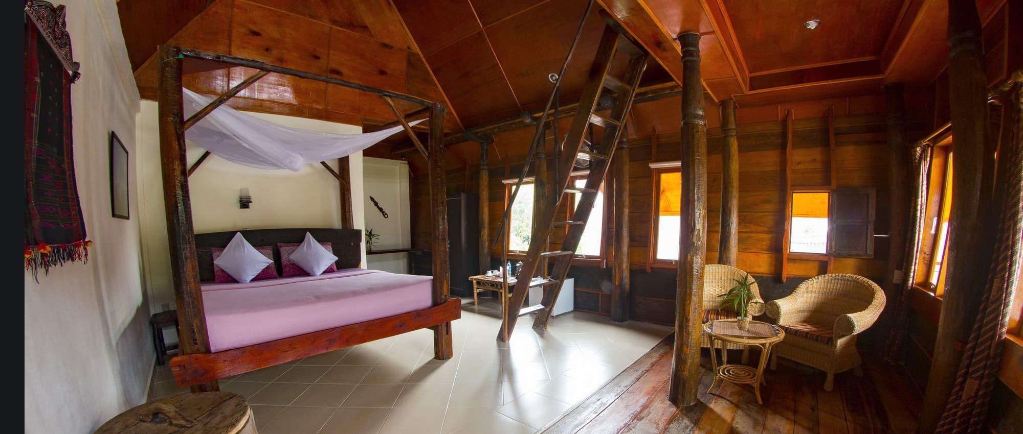 hotel Sumatra Toba chambre