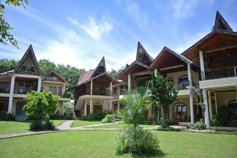 hotel Sumatra Toba maisons