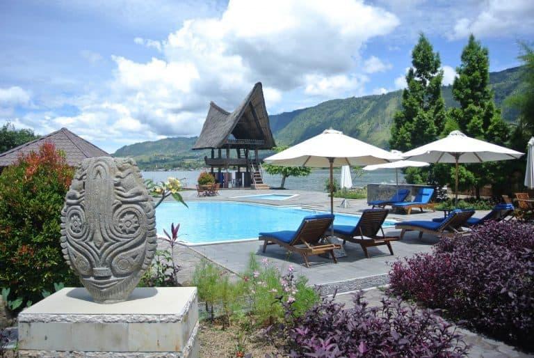 hotel Sumatra Toba piscine