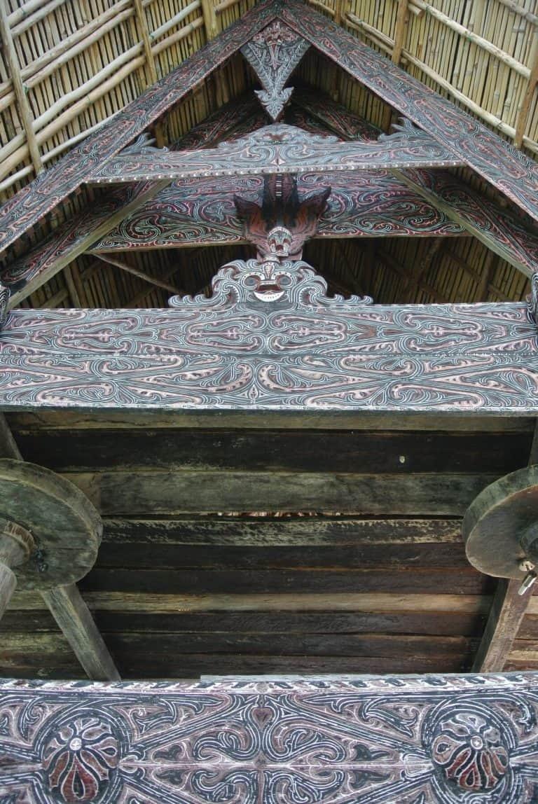 hotel Sumatra Toba bois