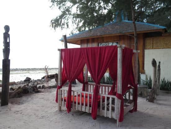 hotel Sumba Kanatang romantisme