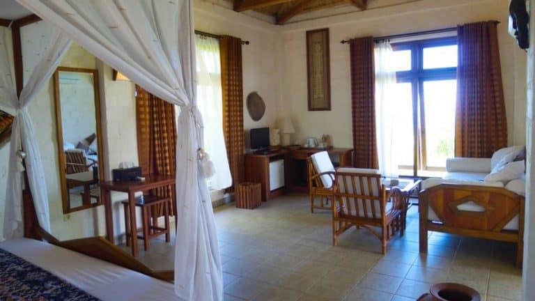 hotel Sumba Lamboya chambre