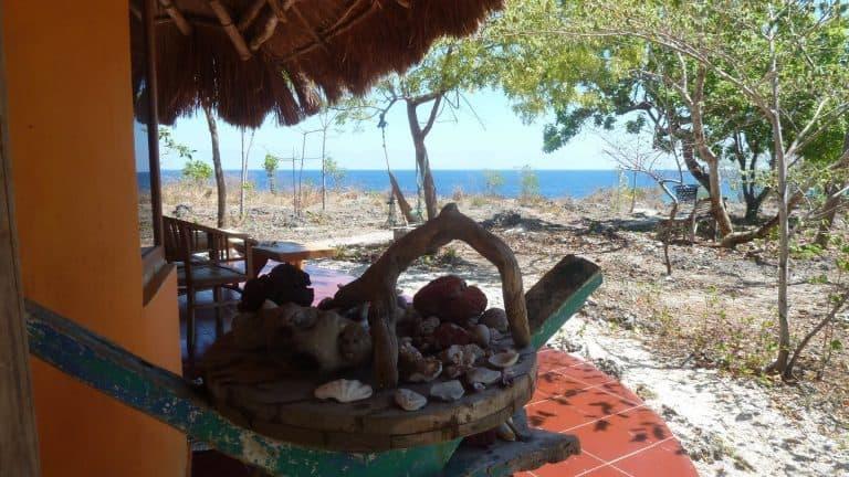 hotel Sumba Tambolaka terrasse