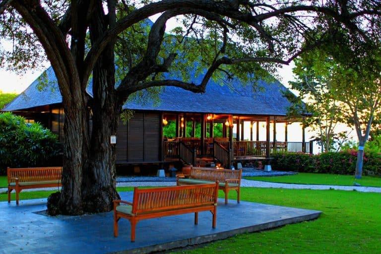 hotel Sumbawa Besar jardin