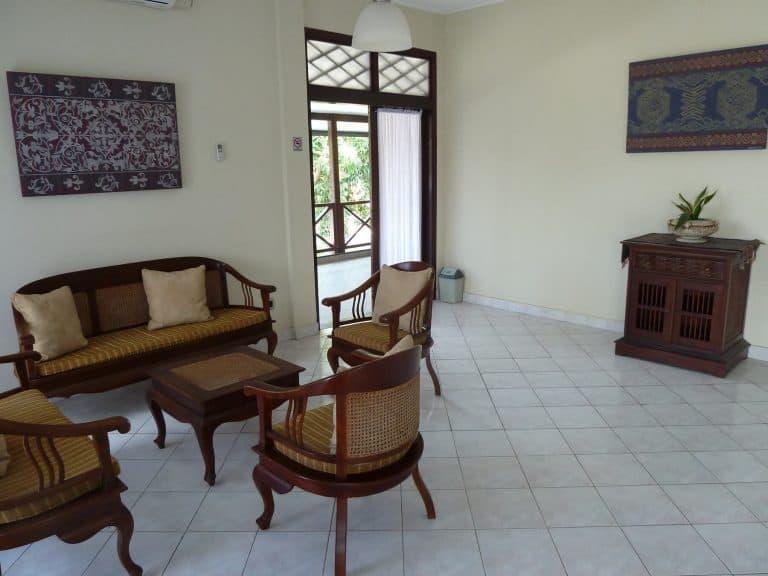 hotel Sumbawa Besar reception