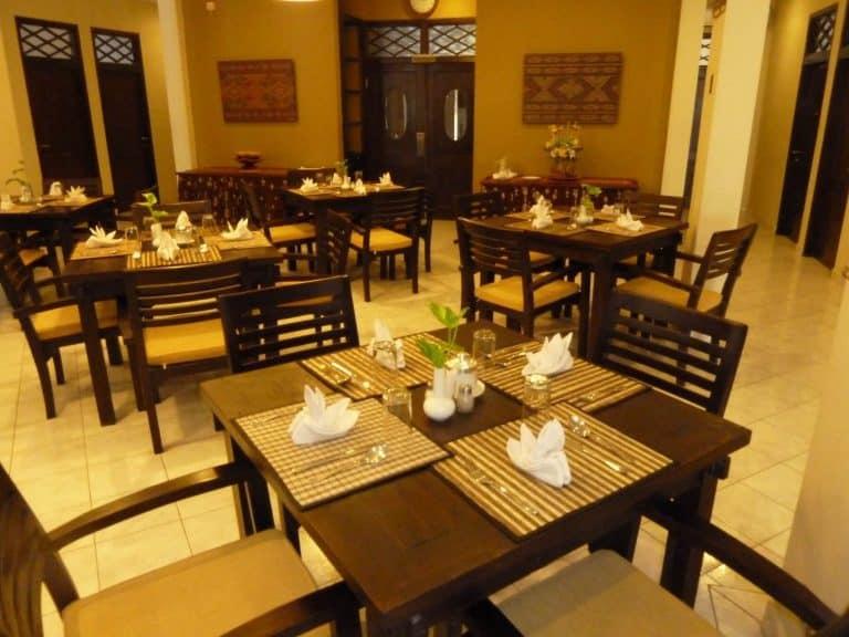 hotel Sumbawa Besar restaurant