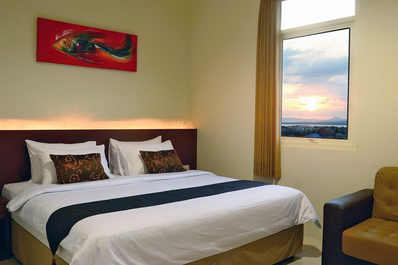 hotel sumbawa marina bima chambre à coucher