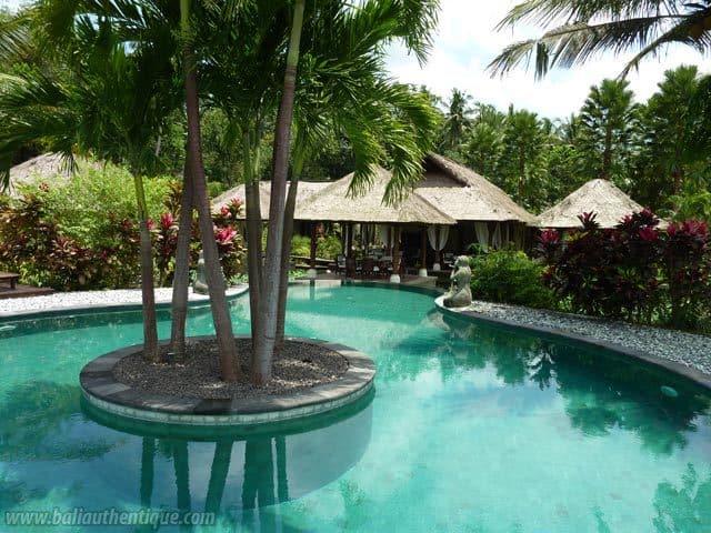 hotel tabanan bali piscine extérieur