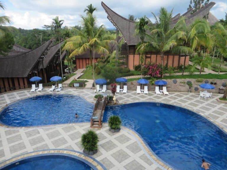 hotel toraja sulawesi rantepao piscine