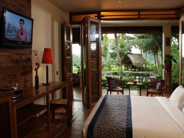 hotel ubud bali chambre