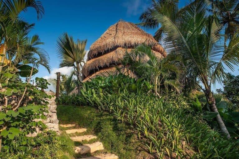 hotel ubud bali charme luxe nature riziere