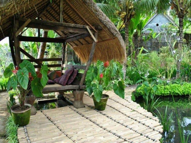hotel ubud bali gazebo charme fleurs