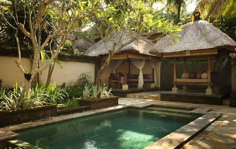 hotel Ubud Bali piscine privative
