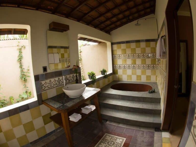 hotel ubud bali salle de bains