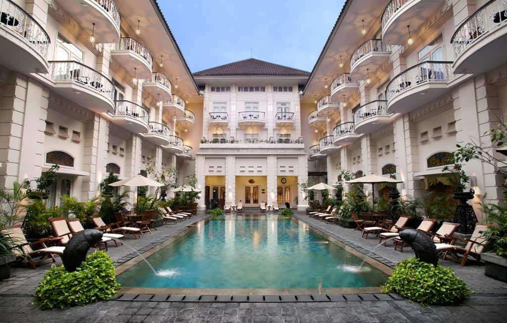 hotel yogyakarta indonésie batiment