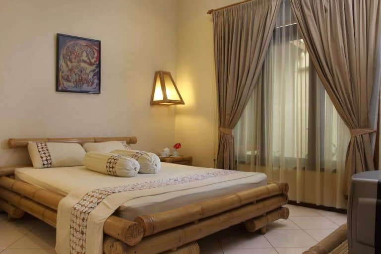 hotel yogyakarta indonésie chambre double