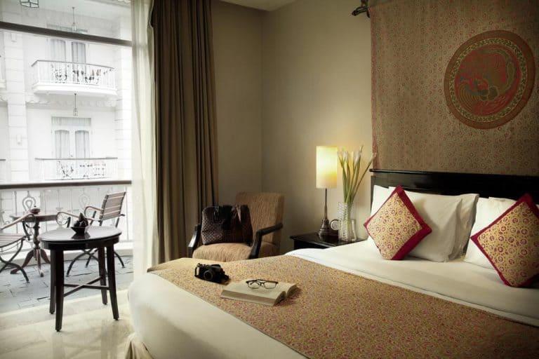 hotel yogyakarta indonésie chambre