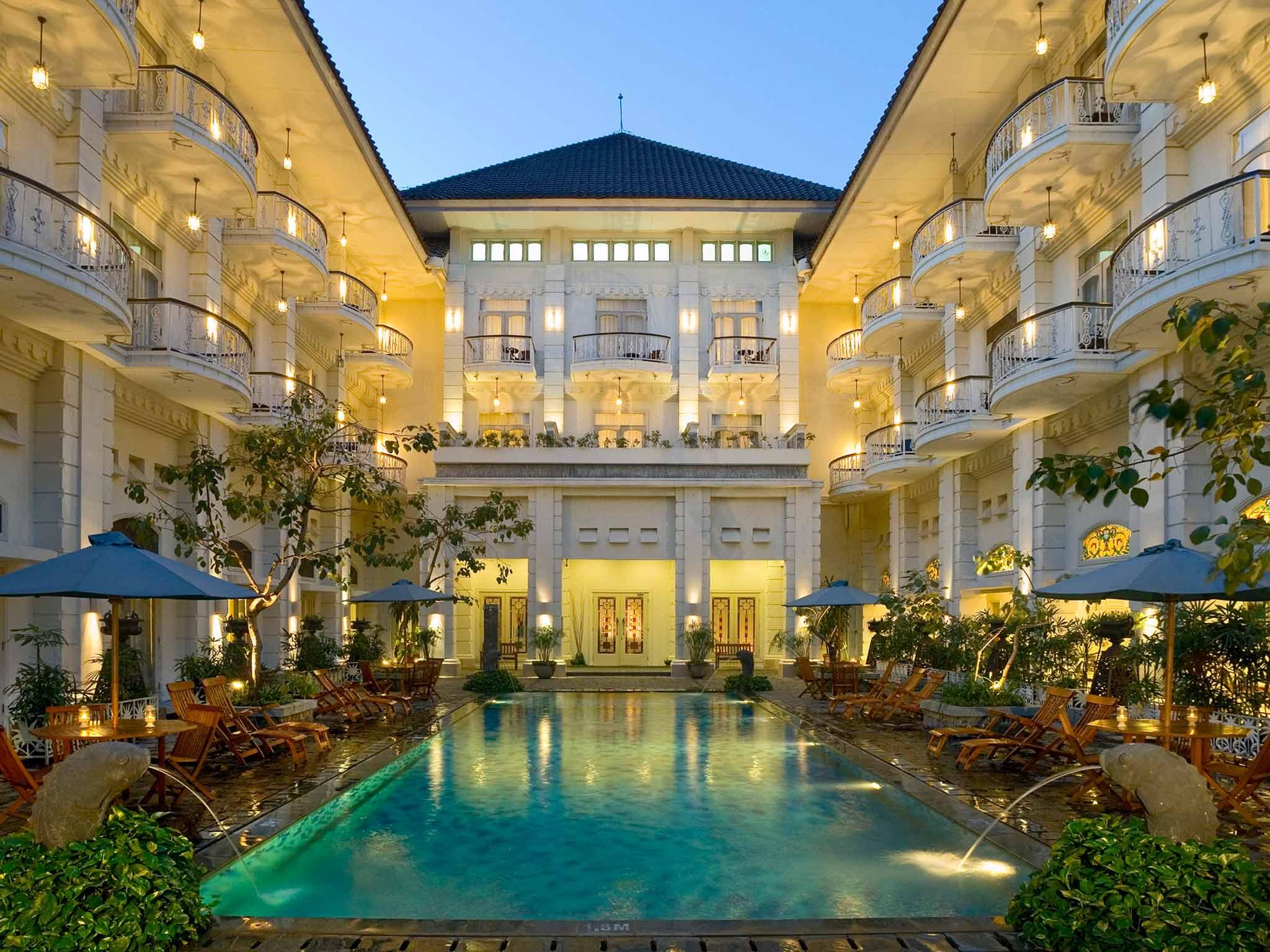 hotel yogyakarta indonésie panorama