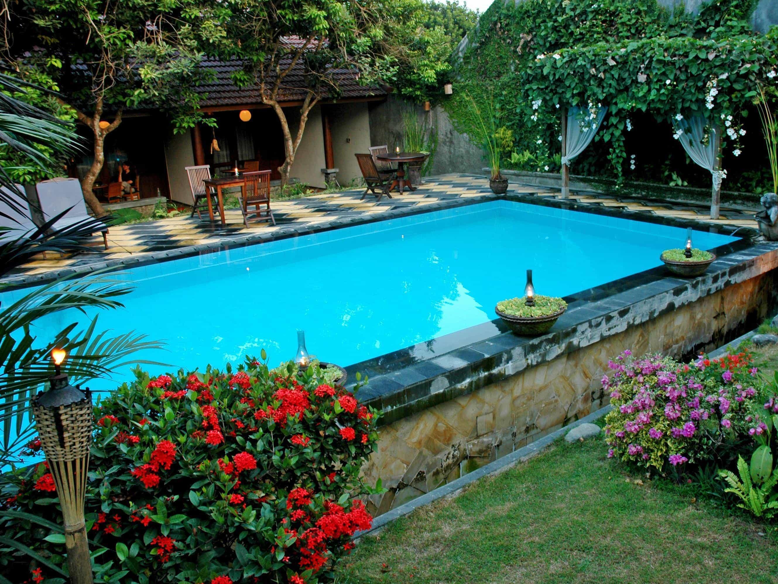 hotel yogyakarta indonésie piscine panorama