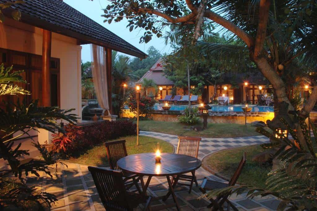 hotel yogyakarta indonésie terrasse