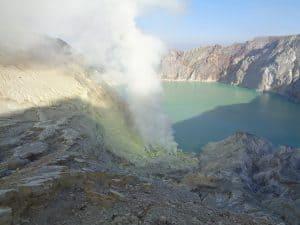 volcan ijen ile de java