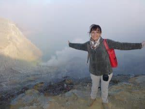 Mont ijen volcan ile de java