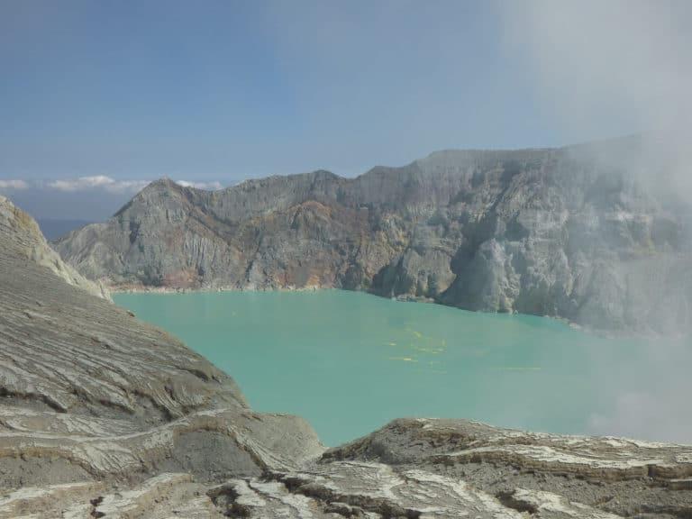 ijen lac acide java voyage