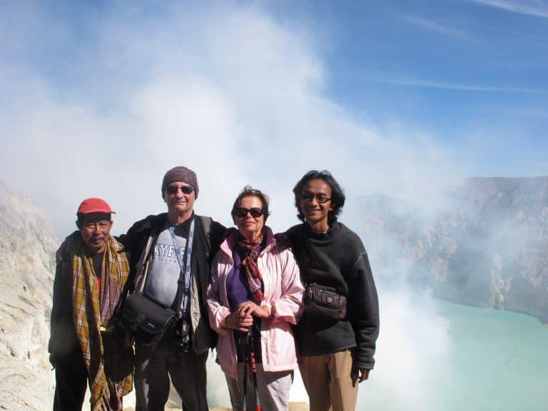 Ijen ile de java tourisme indonésie